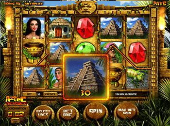 Aztec Treasures 3D 1