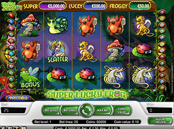 Super Lucky Frog 1